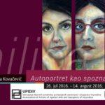 """Milica Kovačević """"Autoportret kao spoznaja duše"""""""